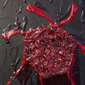 Apocalyptic menstrual clot