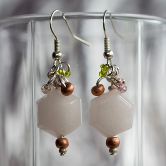 Circarine earrings designed to match a necklace