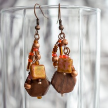 Fideline beaded earrings